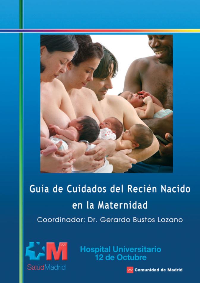 Guía de Cuidados en el Recién Nacido en la Maternidad. Book Cover