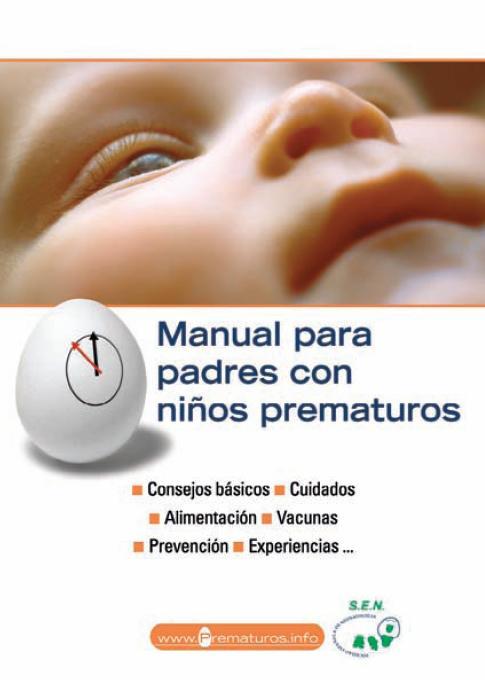 Manual para padres con niños prematuros Book Cover